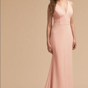 BHLDN Jones dress in blush, never worn & unhemmed